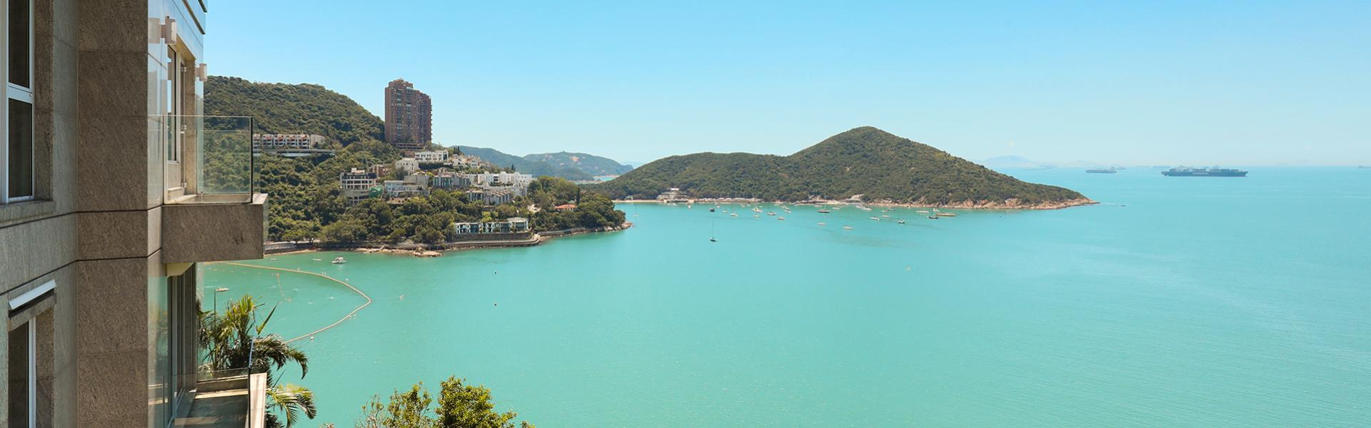 Magnificent sea views in one of Hong Kong's most exclusive neighbourhoods